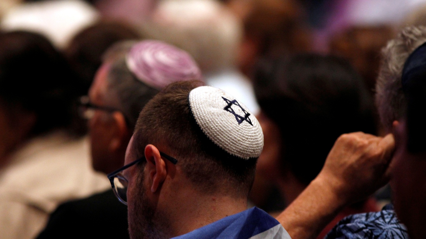 A candlelight vigil is held at Rancho Bernardo Community Presbyterian Church for victims of a shooting incident at the Congregation Chabad synagogue in Poway, north of San Diego, California, U.S. April 27, 2019.