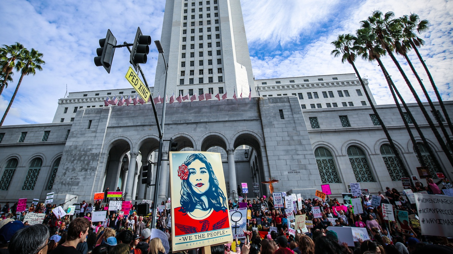 Women's March Los Angeles, January 21st 2017.