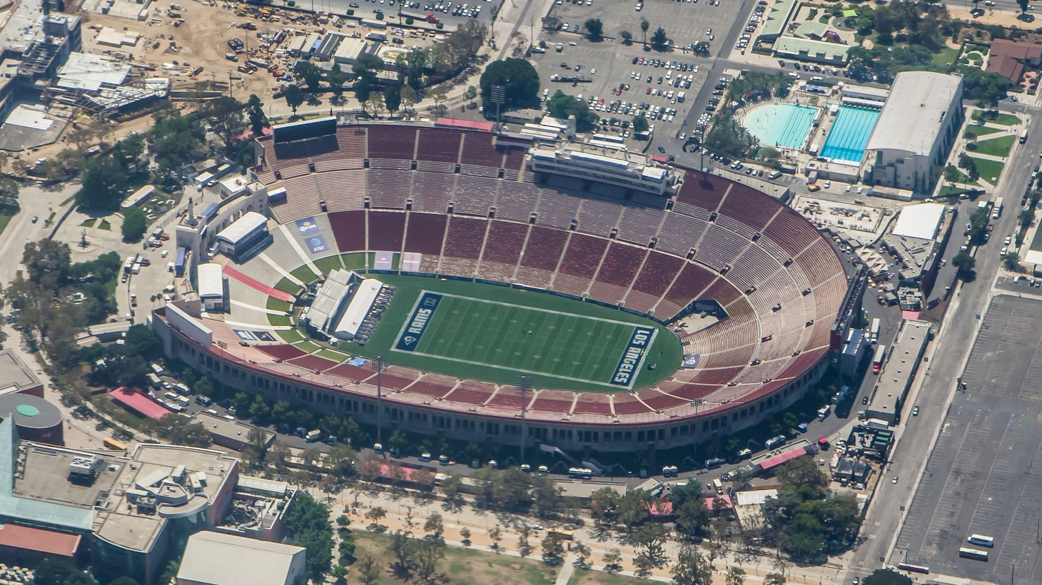 The L.A. Coliseum was completed in 1923. The University of Southern California, a tenant since it opened, is the major tenant now and into the future.