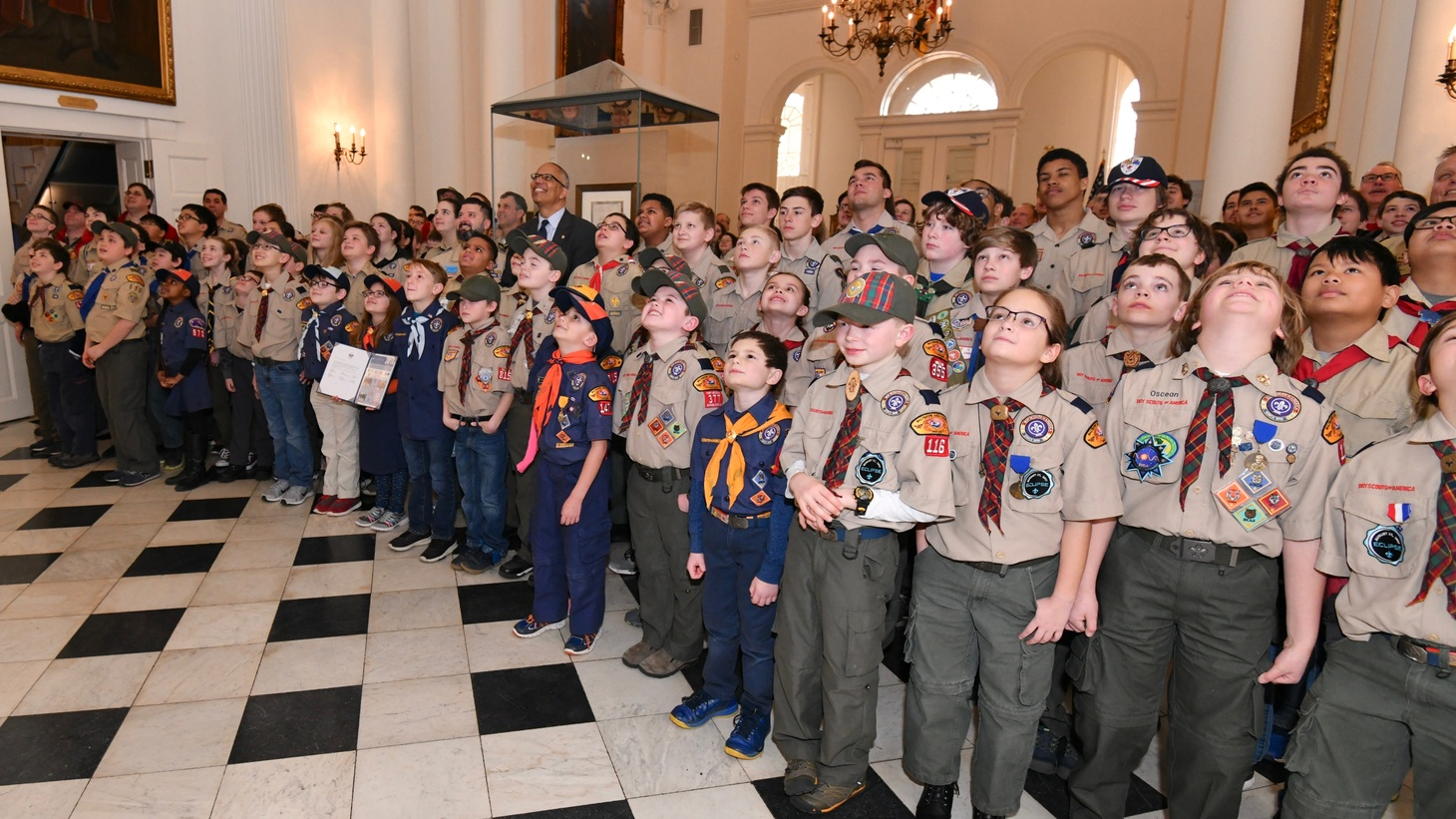 Boy Scouts of America in Annapolis, Maryland.