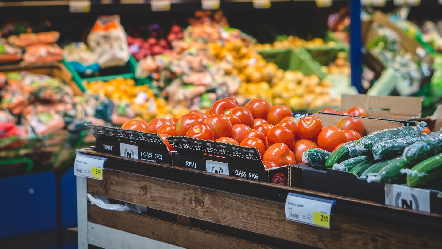Vegetables are eligible purchases under food stamps.