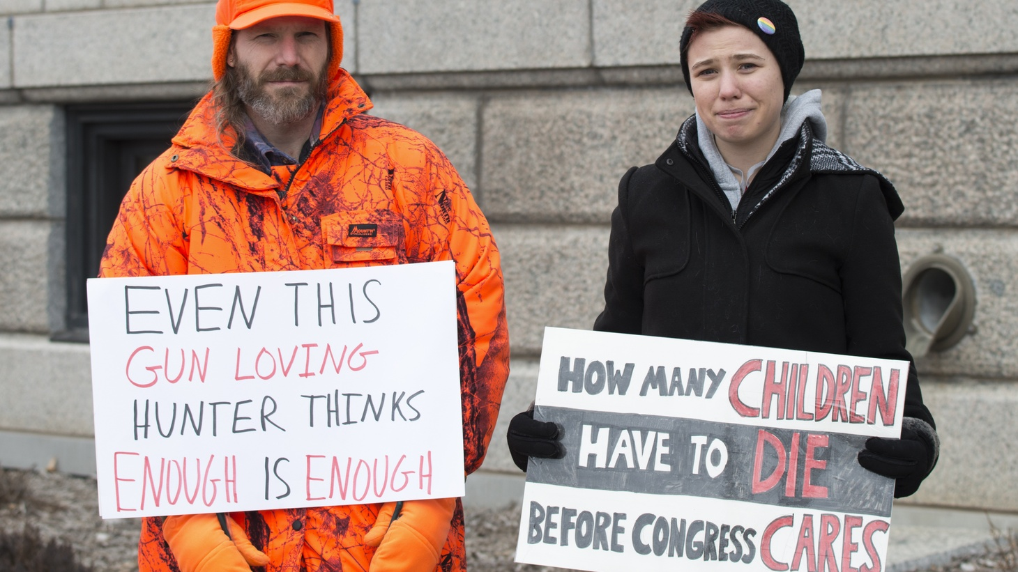 On March 28, 2018, more than 10,000 people marched through St. Paul, Minnesota to demand lawmakers take action on gun law reform.