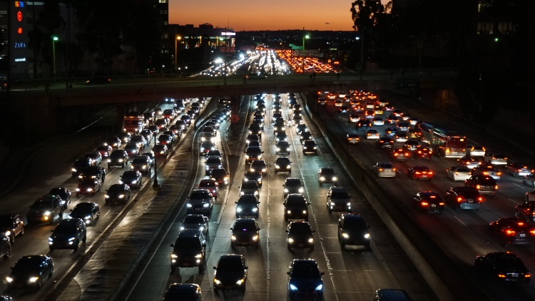It's something all Angelenos can agree on: traffic in Los Angeles is crazy making. Last year, drivers in LA averaged a    whopping 128 hours sitting in traffic   .