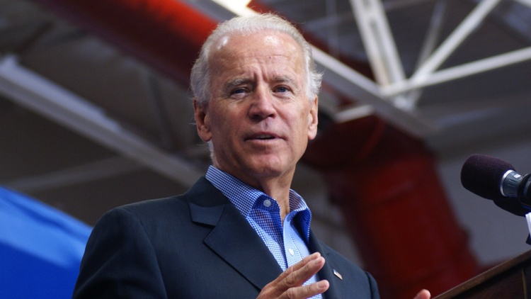 Joe Biden on Wednesday promised to tone down his famously handsy behavior. Biden is widely expected to run for president in 2020.