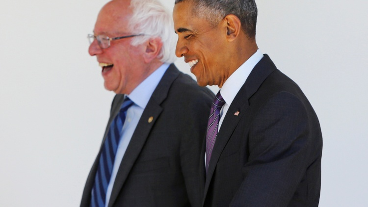 President Obama endorsed Hillary Clinton for President Thursday. The president met earlier in the day with Bernie Sanders, who is already looking ahead to the party convention in July.