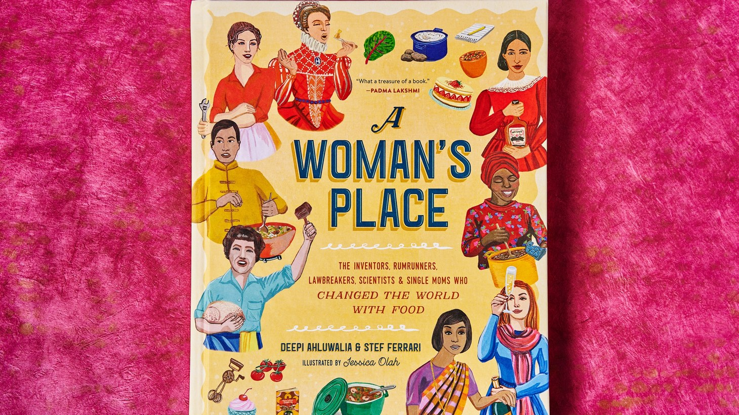 "The cover of ""A Woman's Place."""