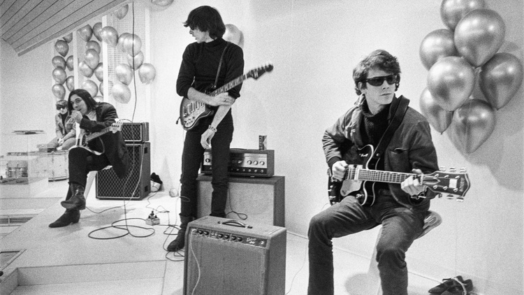 The Velvet Underground symbolized cool during the 1960s. With an experimental sound and transgressive lyrics, the Lou Reed-fronted band was managed by pop artist Andy Warhol.