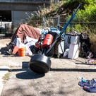 In LA, Trump is expected to take on homelessness