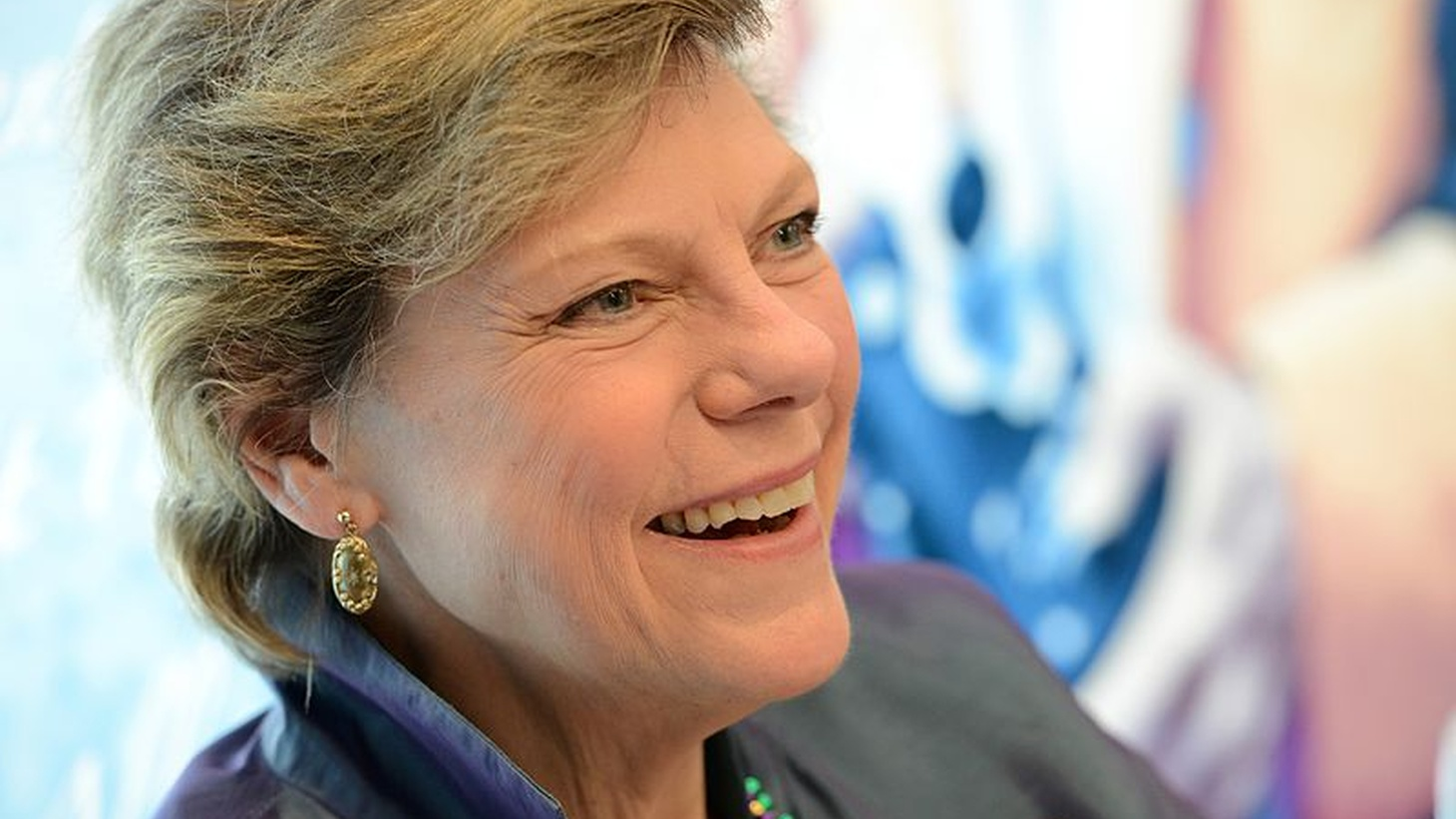 Cokie Roberts at an event at the LBJ Presidential Library, February 28, 2017.