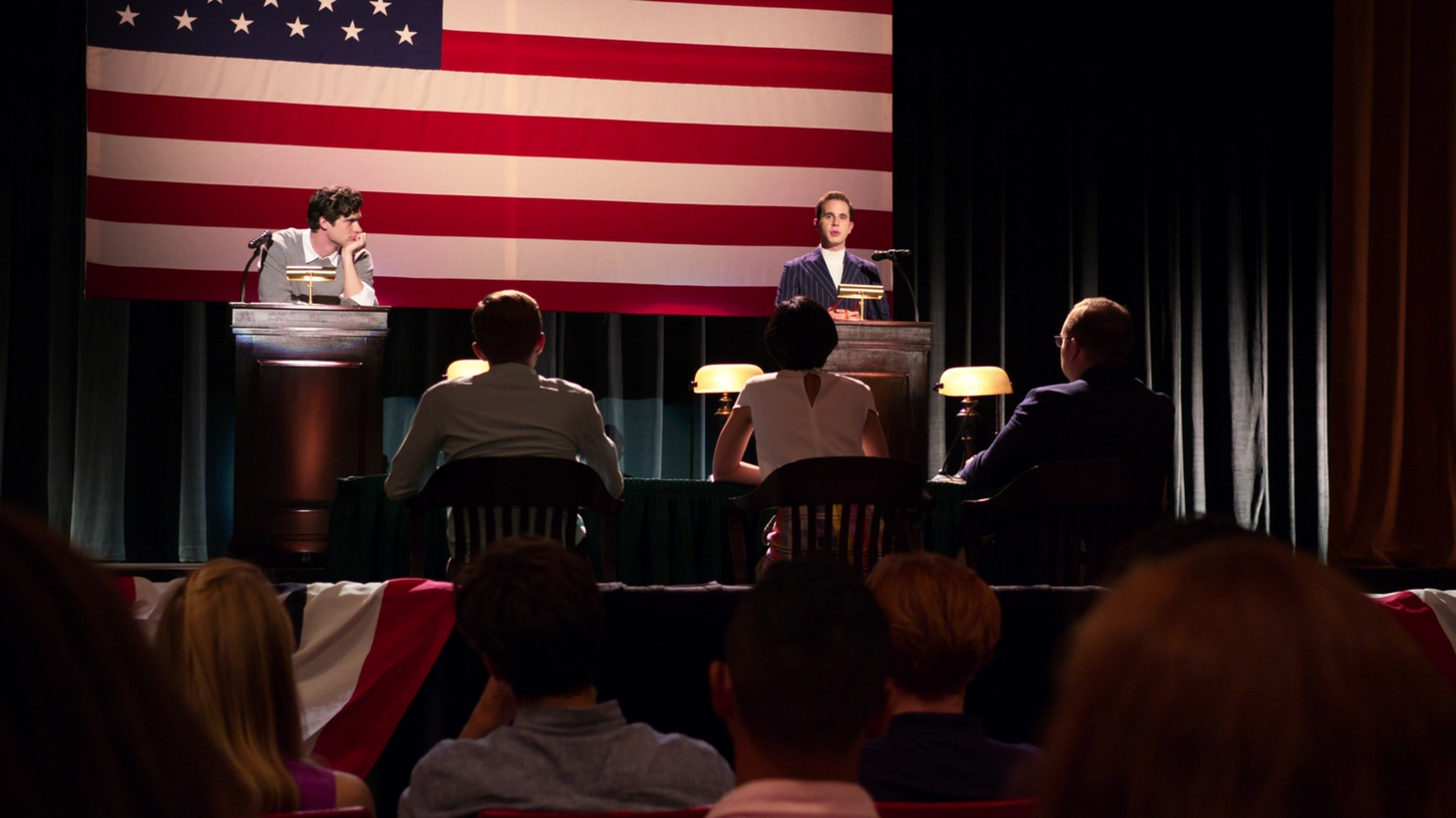 """A scene from Netflix's """"The Politician."""""""