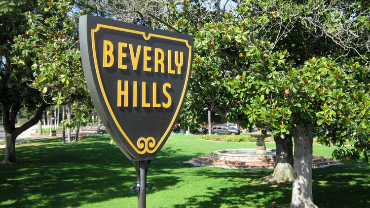 Billionaire real estate developer Geoffrey Palmer is hosting Trump's fundraiser Tuesday tonight in Beverly Hills. Tickets are going for as much as $100,000.
