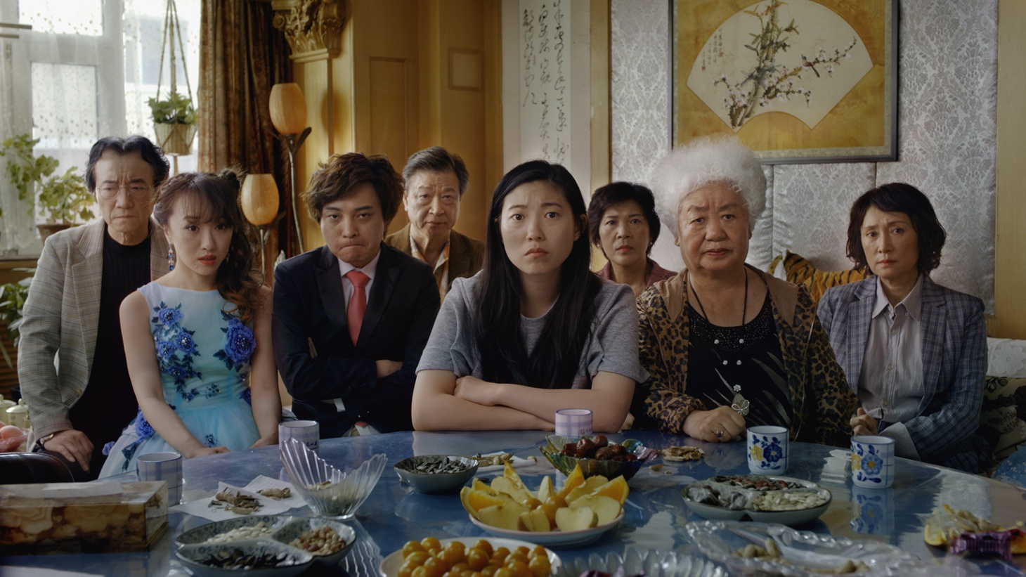 A scene from The Farewell.