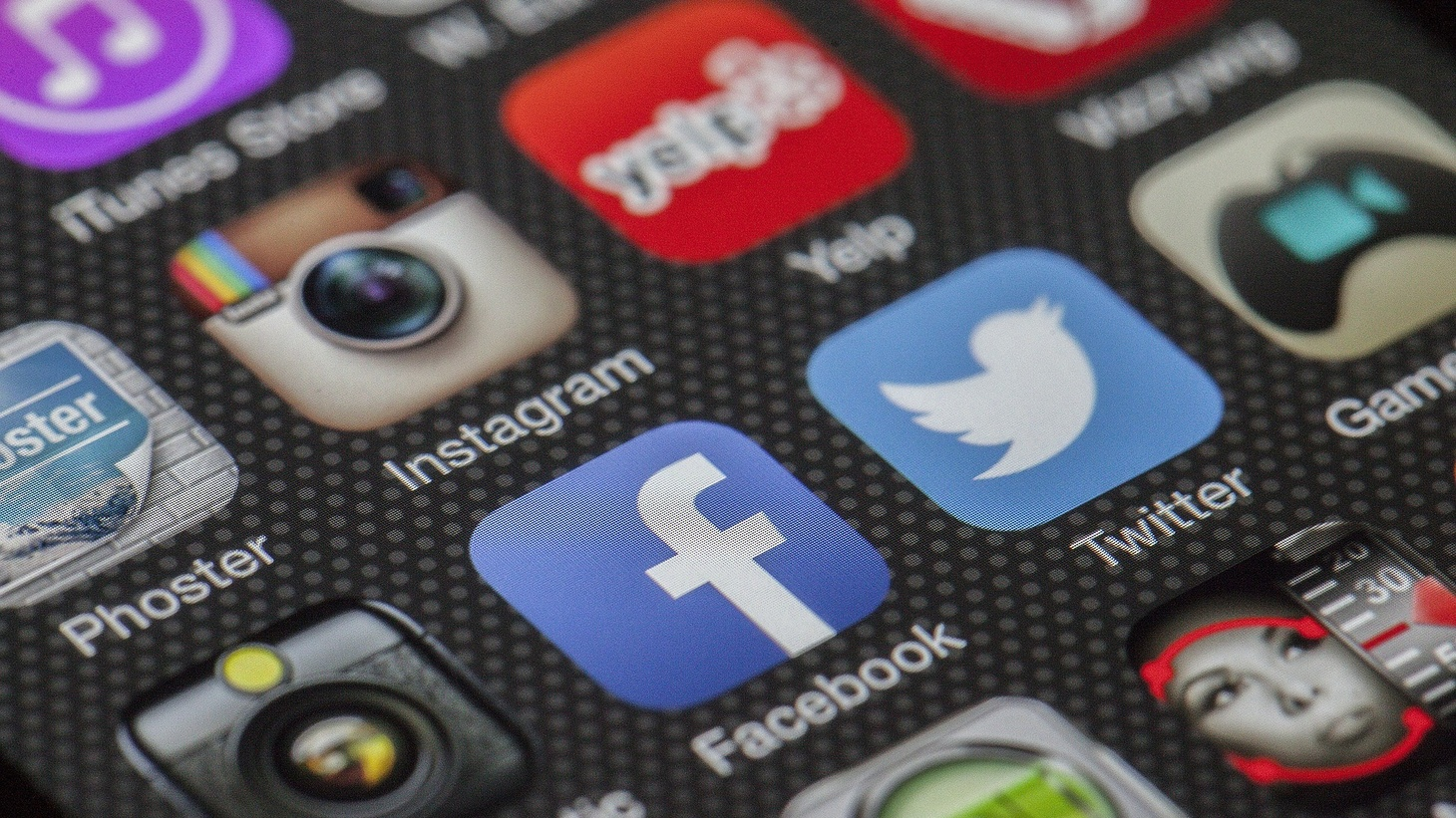 Social media platforms.