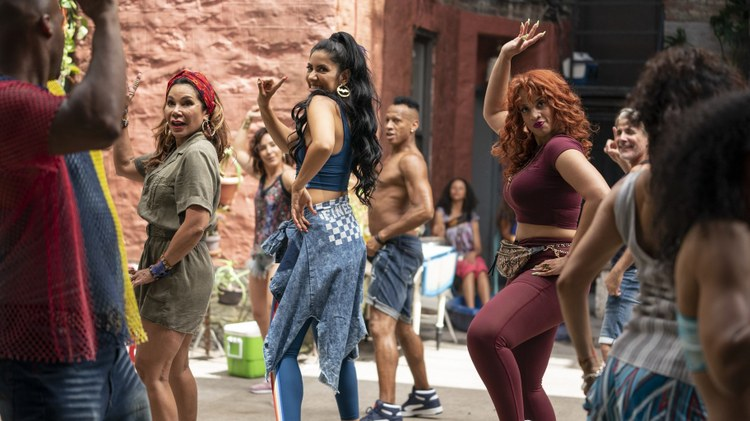 """Critics review """" In the Heights ,"""" the film adaptation of Lin Manuel Miranda's 2008 Tony Award-winning musical, all about the Washington Heights neighborhood in New York City; """"The…"""