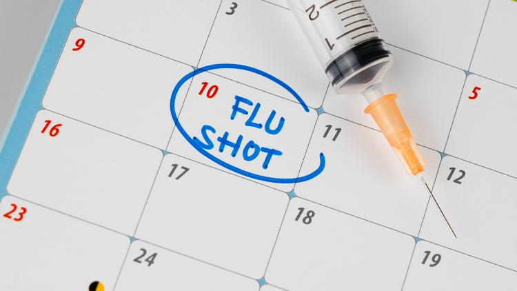 Dr. Anthony Fauci is urging everyone to get vaccinated against influenza and coronavirus as soon as possible.