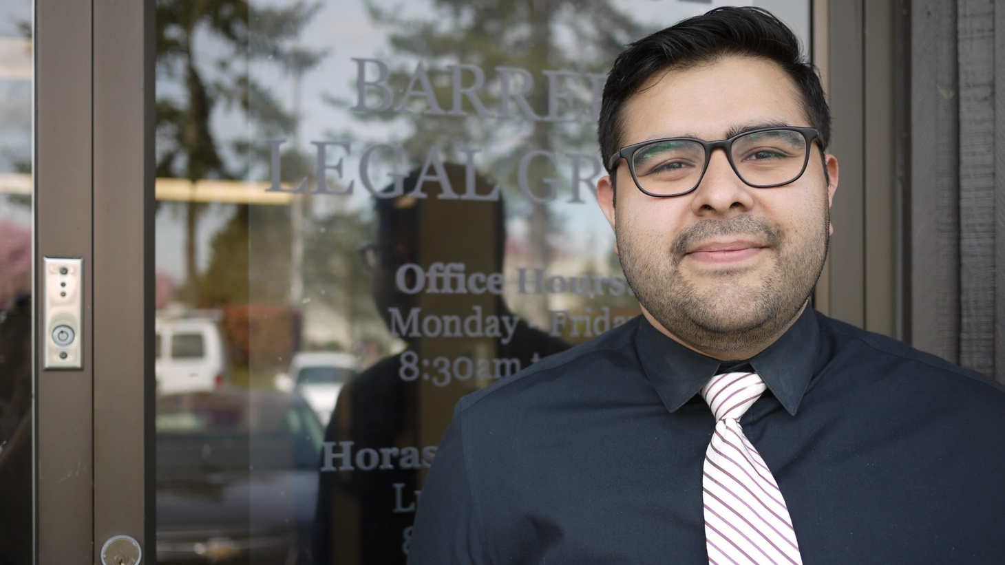 Luis Cortes, the undocumented attorney arguing in favor of DACA before the Supreme Court.