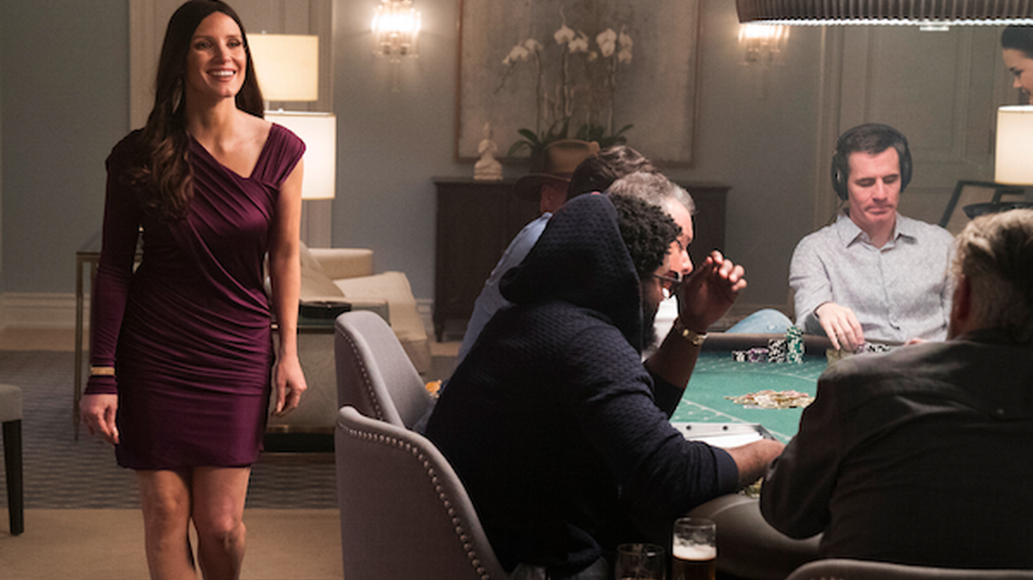 """Molly Bloom built and ran high stakes poker games in LA and New York. The games featured Hollywood stars, hedge fund managers and politicians. She was eventually arrested and indicted. Her story is the focus of the new movie """"Molly's Game."""""""