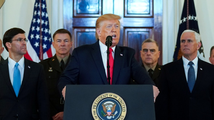 Today President Trump announced no new military strikes against Iran for Tuesday's rocket attack, but he will impose new sanctions. We find out what that means.