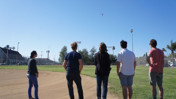 KCRW staffers get a flying lesson