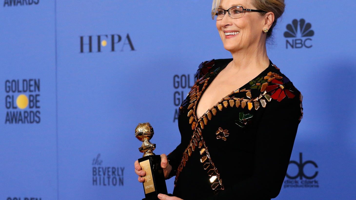 We look at last night's Golden Globes -- the awards, speeches, and whether they reflect America. We also look at whether Donald Trump has kept good on his promise to make America great again by bringing back manufacturing jobs.