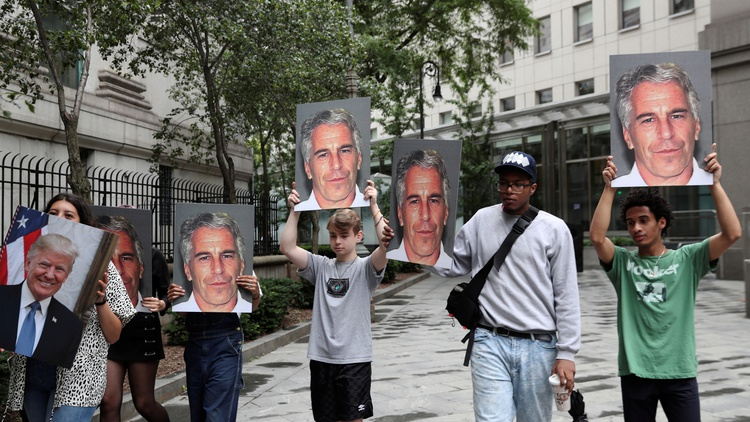 Multi-millionaire hedge fund manager Jeffrey Epstein was charged today with sex trafficking.