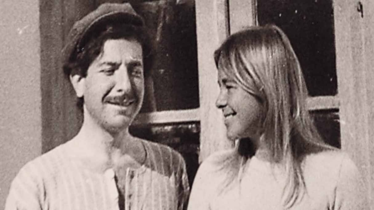 """Leonard Cohen and Marianne Ihlen from the film """"Marianne & Leonard: Words Of Love."""""""