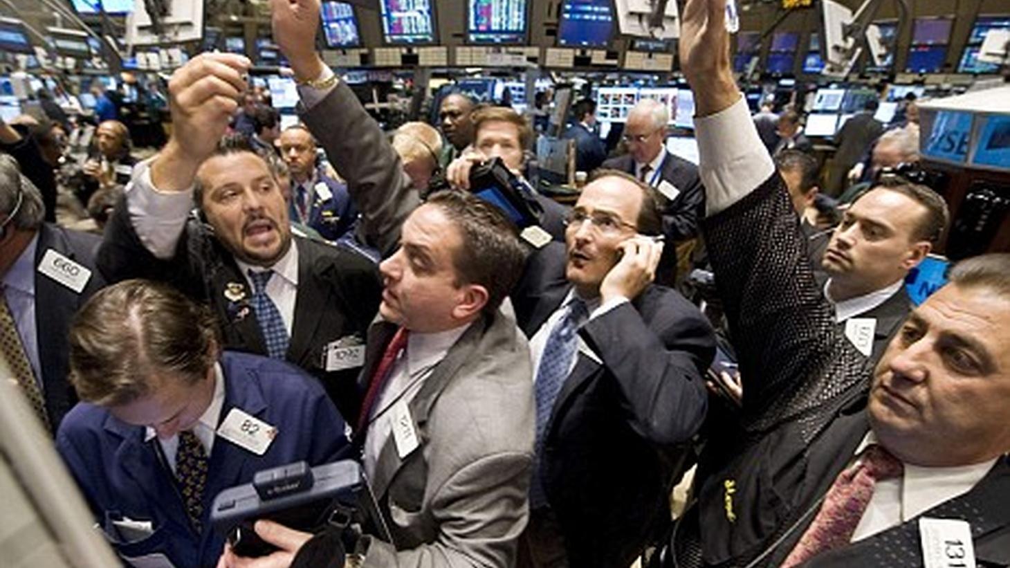 The New York Stock Exchange .
