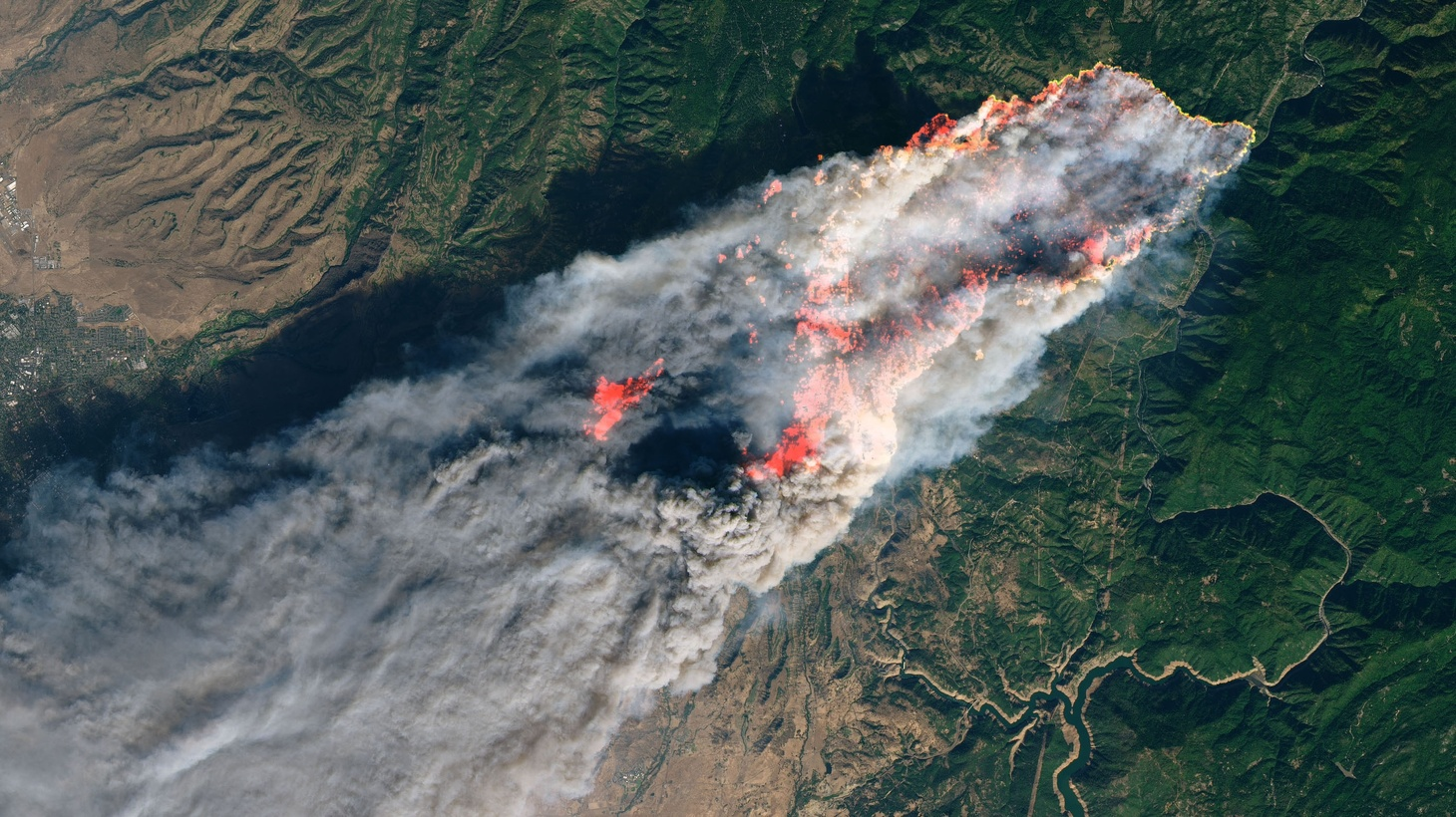 On the morning of November 8, 2018, the Camp Fire erupted 90 miles (140 kilometers) north of Sacramento, California. By evening, the fast-moving fire had charred around 18,000 acres and remained zero percent contained, according to news reports.