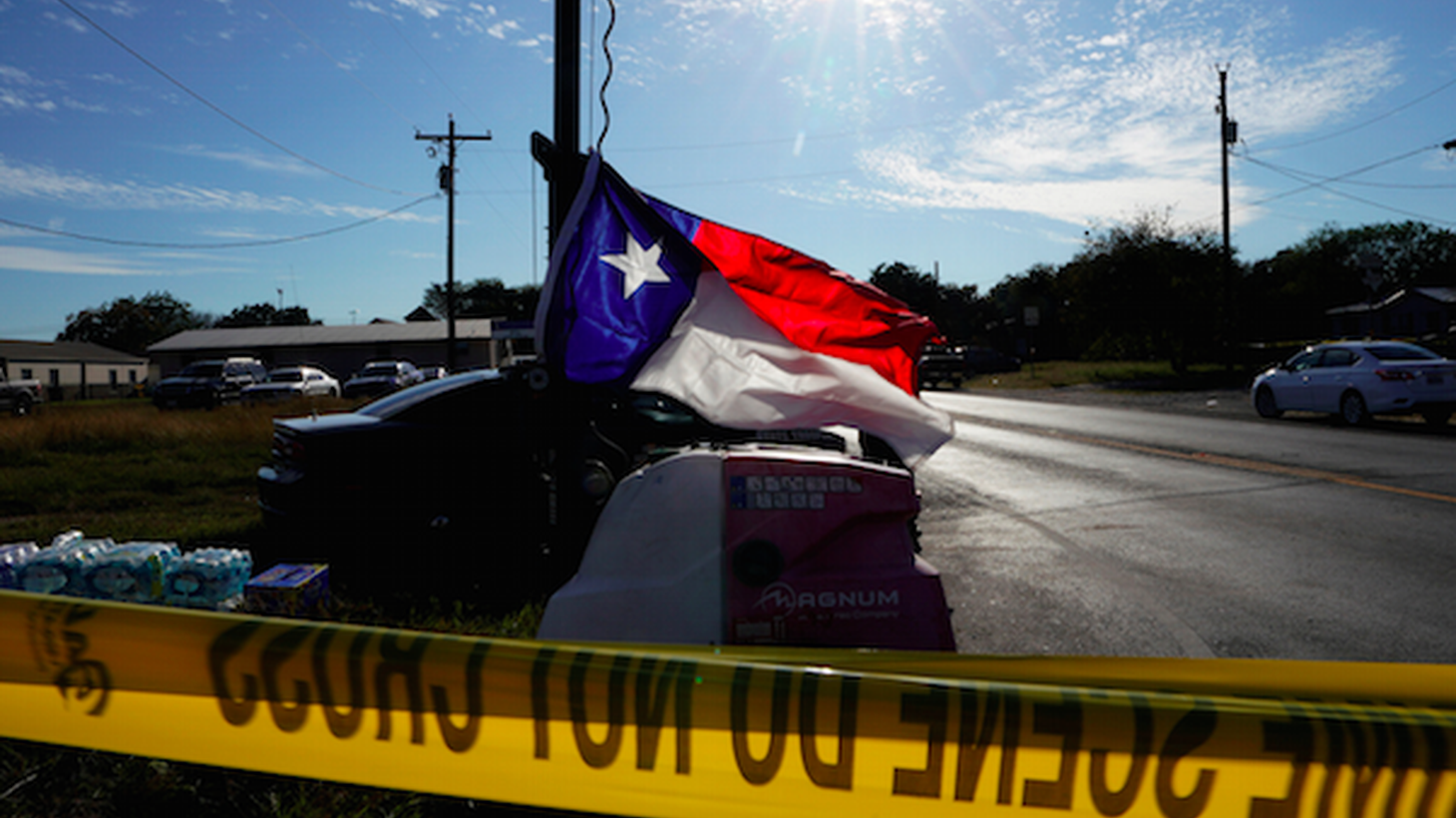 As law enforcement tries to figure out what led to Sunday's attack at a Baptist church in rural Texas, debate continues over how to prevent mass shootings? In more than half of mass shootings, one of the victims was an intimate partner or relative of the shooter. In the Texas case, the shooter was court-martialed for abusing his wife and child. And he sent threatening text messages to his mother-in-law, who attended the church.