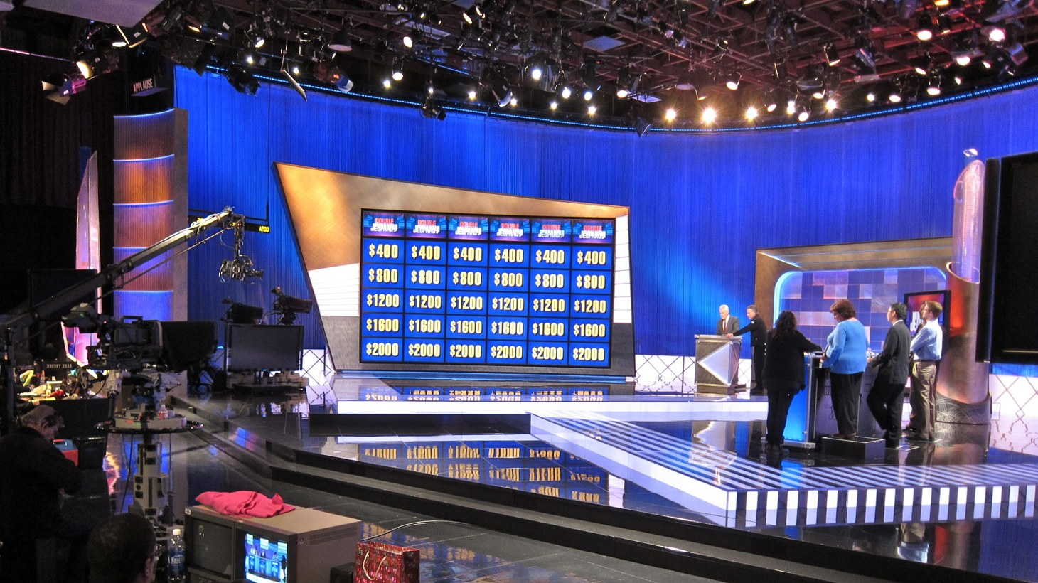 "A filming of ""Jeopardy!"""