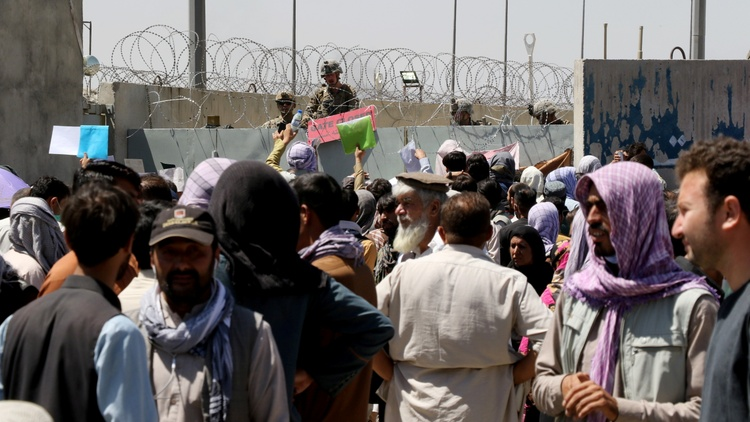 Today explosions erupted outside the Kabul airport, leaving dozens of people dead or injured, including 12 U.S. service members. The Taliban condemned the attack.