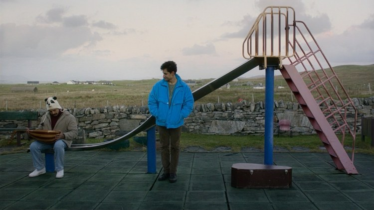 """In the new movie """"Limbo,"""" a young Syrian refugee named Omar is stuck on a Scottish island. He's separated from his family and hoping to get asylum in Britain."""