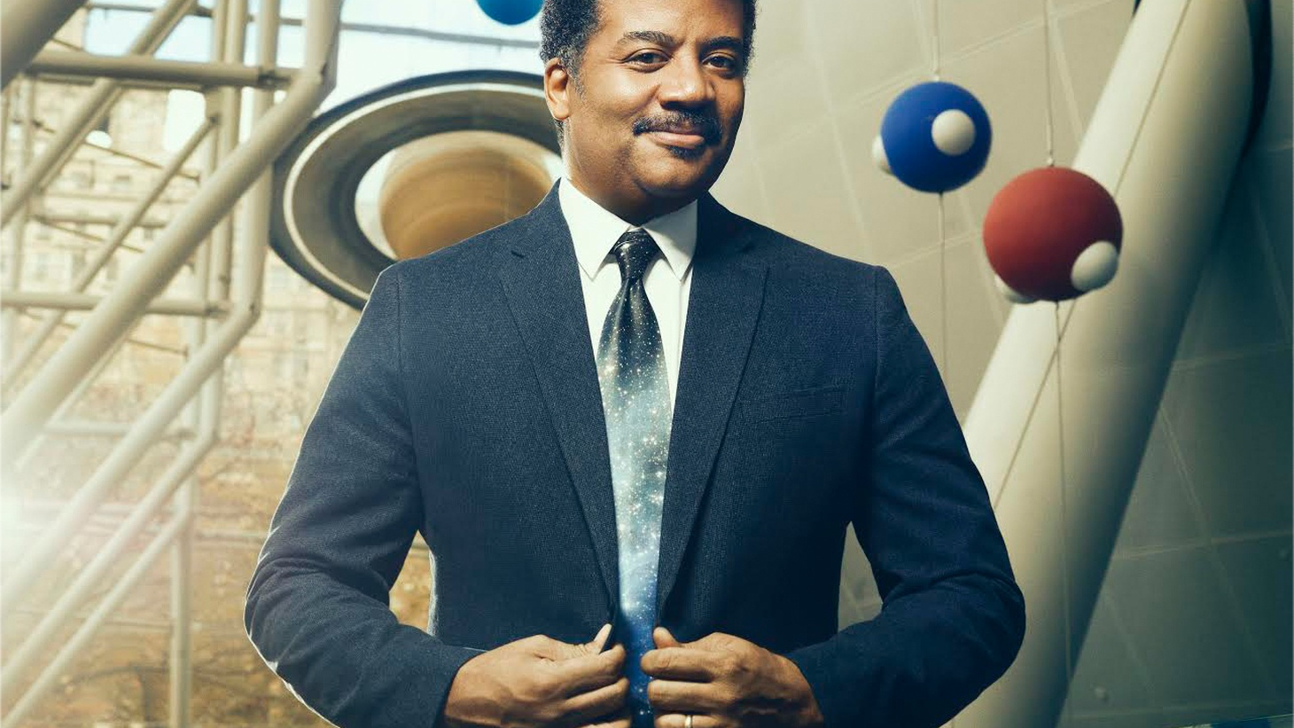 """The universe is under no obligation to make sense to you,"" writes Neil DeGrasse Tyson is his new book titled ""Astrophysics for People in a Hurry."" He talks about the multiverse, time travel, and why he opposes the idea of putting some humans on Mars in case a catastrophe wipes out Earth."