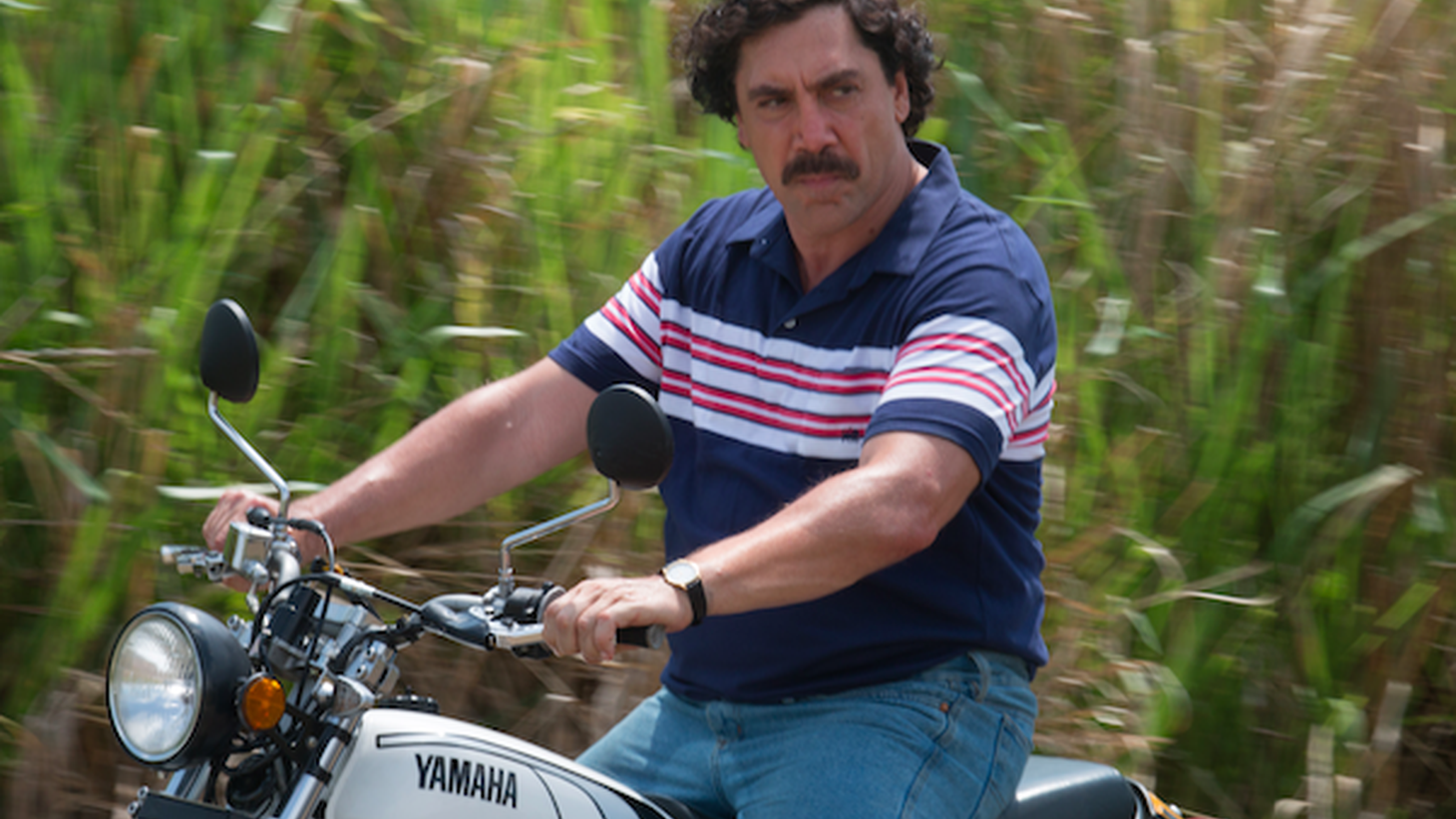 "Javier Bardem played the real-life quadriplegic activist Ramon Sampedro in ""The Sea Inside,"" and psycho-killer Anton Chigurh in ""No Country For Old Men."" Now he portrays notorious Colombian drug lord Pablo Escobar in ""Loving Pablo."""