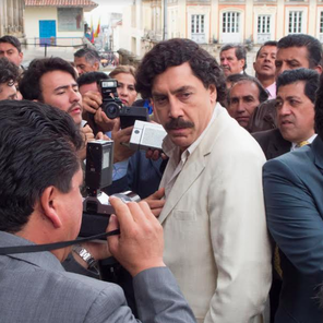 Javier Bardem's transformation into Pablo Escobar