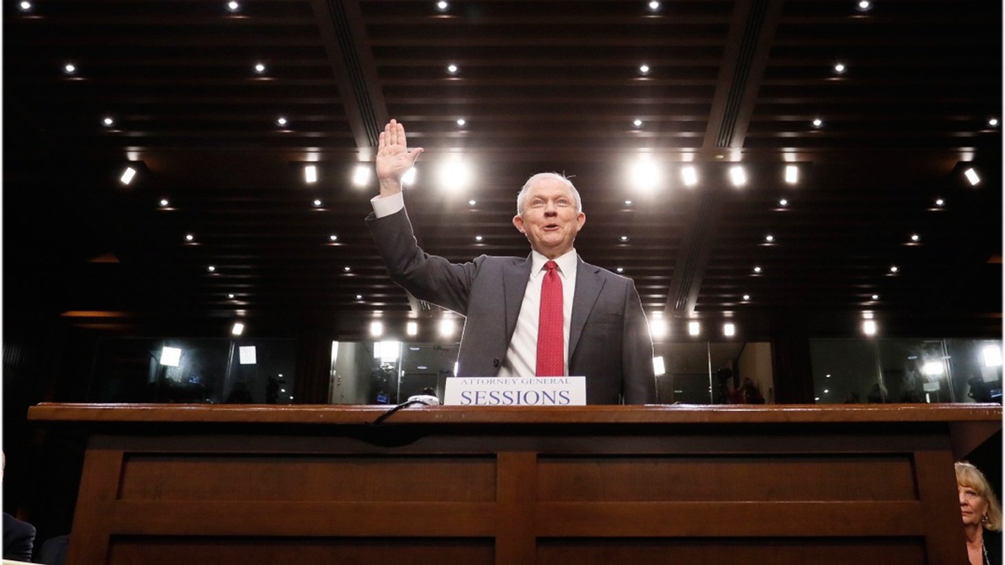 Attorney General Jeff Sessions spoke before the Senate Intelligence Committee Tuesday. He was supposed to speak before the House Appropriations Committee, but he left that to his Deputy Attorney General, Rod Rosenstein. There are questions about the Russia investigation, and reports that President Trump might fire special counsel Robert Mueller.