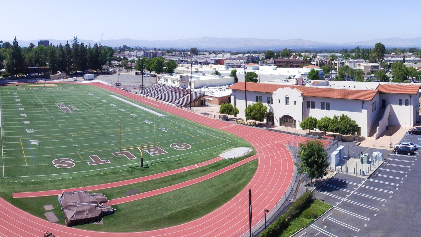 The pandemic forced staff at Crespi Carmelite High School to reevaluate athletics programs, as many students there participate in sports. That's according to the school's president, Ken Foersch.