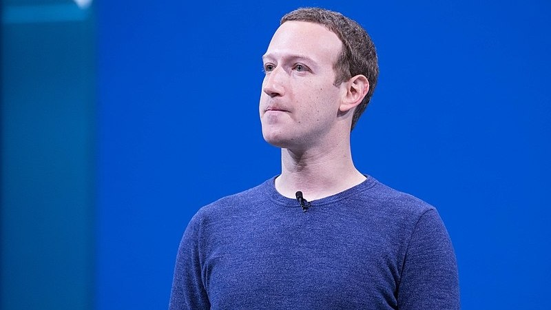 Mark Zuckerberg, 2018.