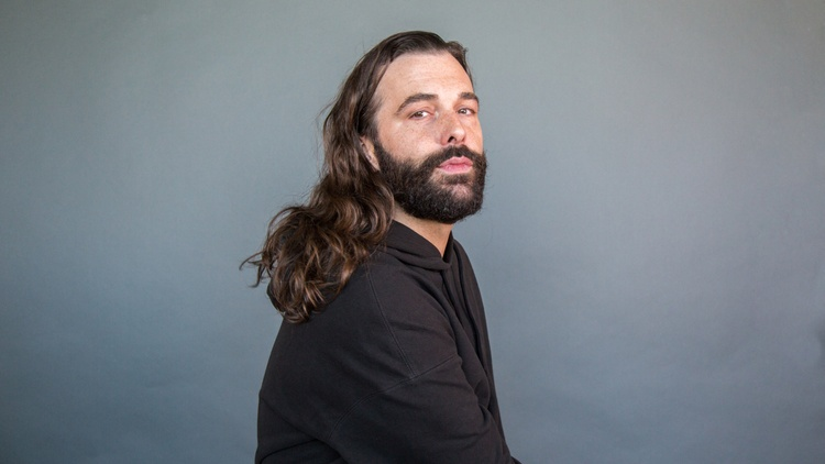 "Jonathan Van Ness is the grooming expert on Netflix's ""   Queer Eye   ,"" a podcast host, gymnastics and figure skating    superfan   , and now an author."