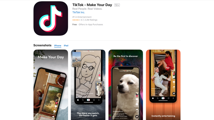 TikTok is popular among teens, who are using it for videos, memes, and lip-synching.