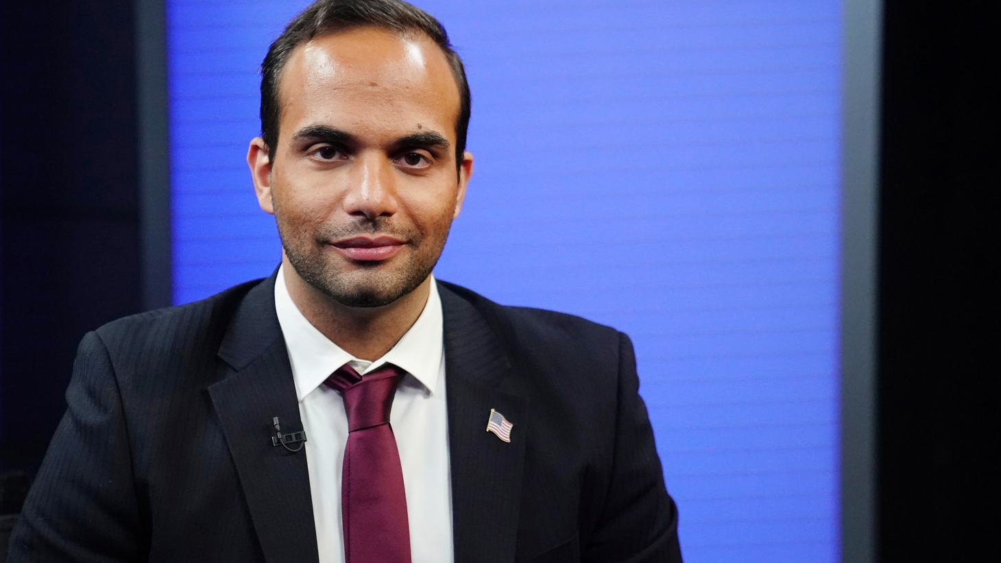 George Papadopoulos poses for a photo before a TV interview in New York, New York, U.S., March 26, 2019.