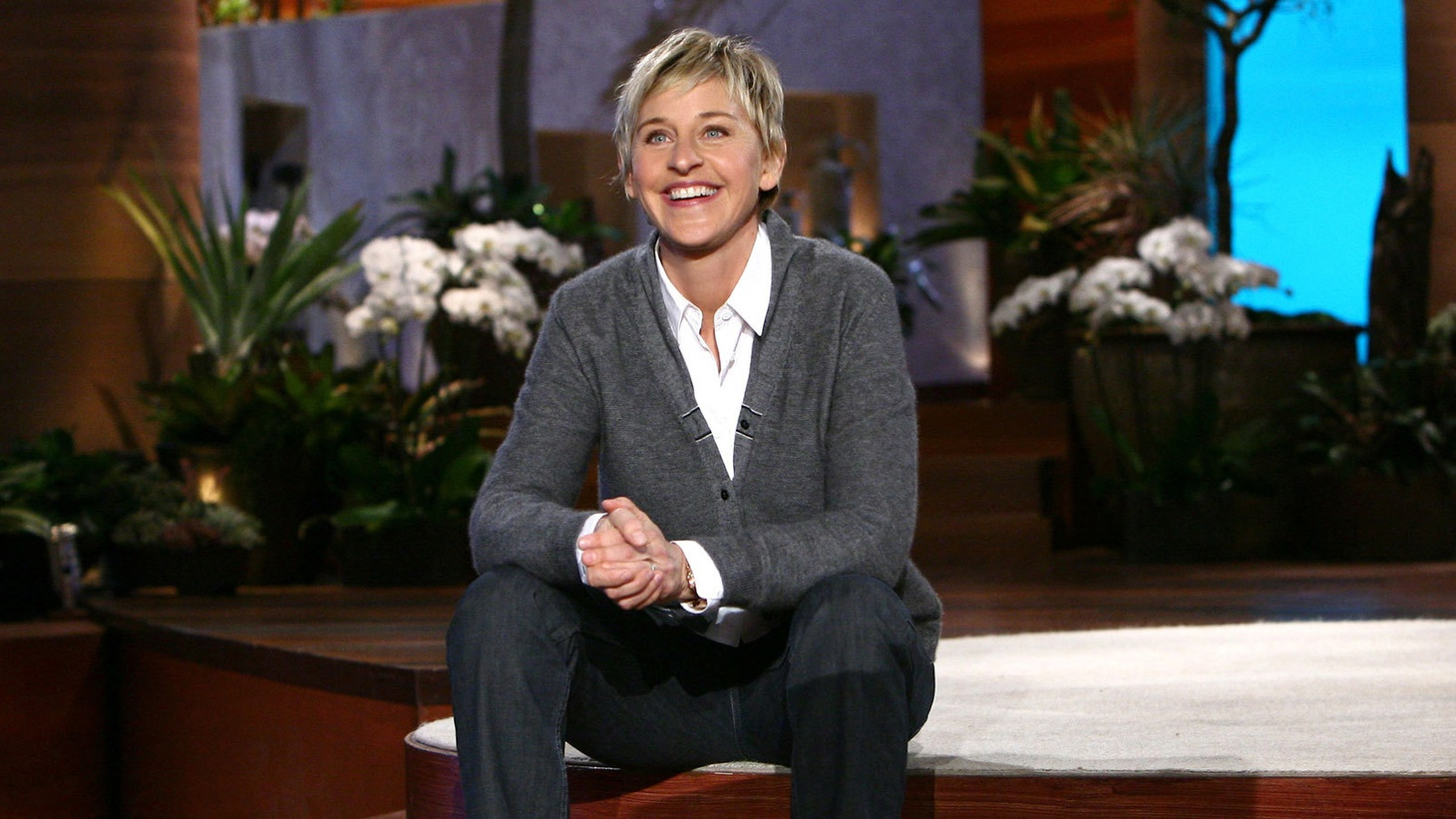 Warm and empathic tone of the Ellen Show...