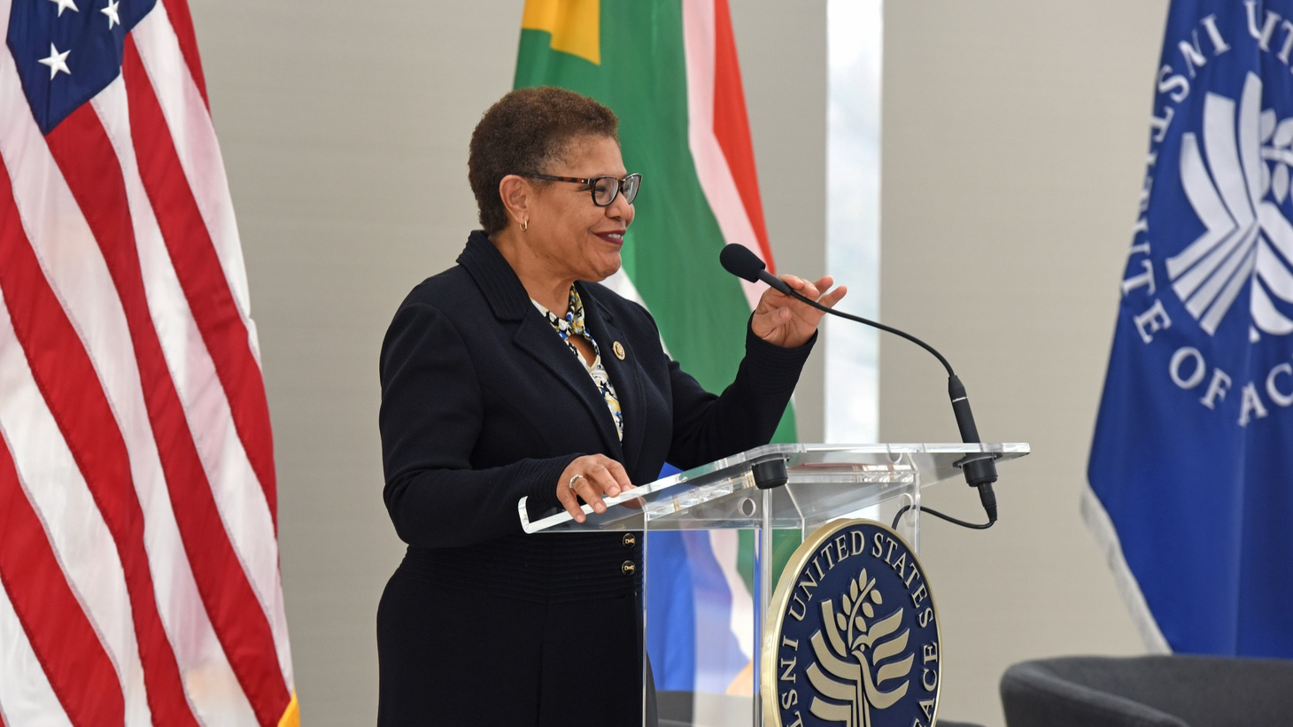 Karen Bass worked in Cuba, became an activist in South LA, climbed the ranks in the California State Assembly, and has been in Congress since 2011. Now she's on Joe Biden's shortlist for vice president.