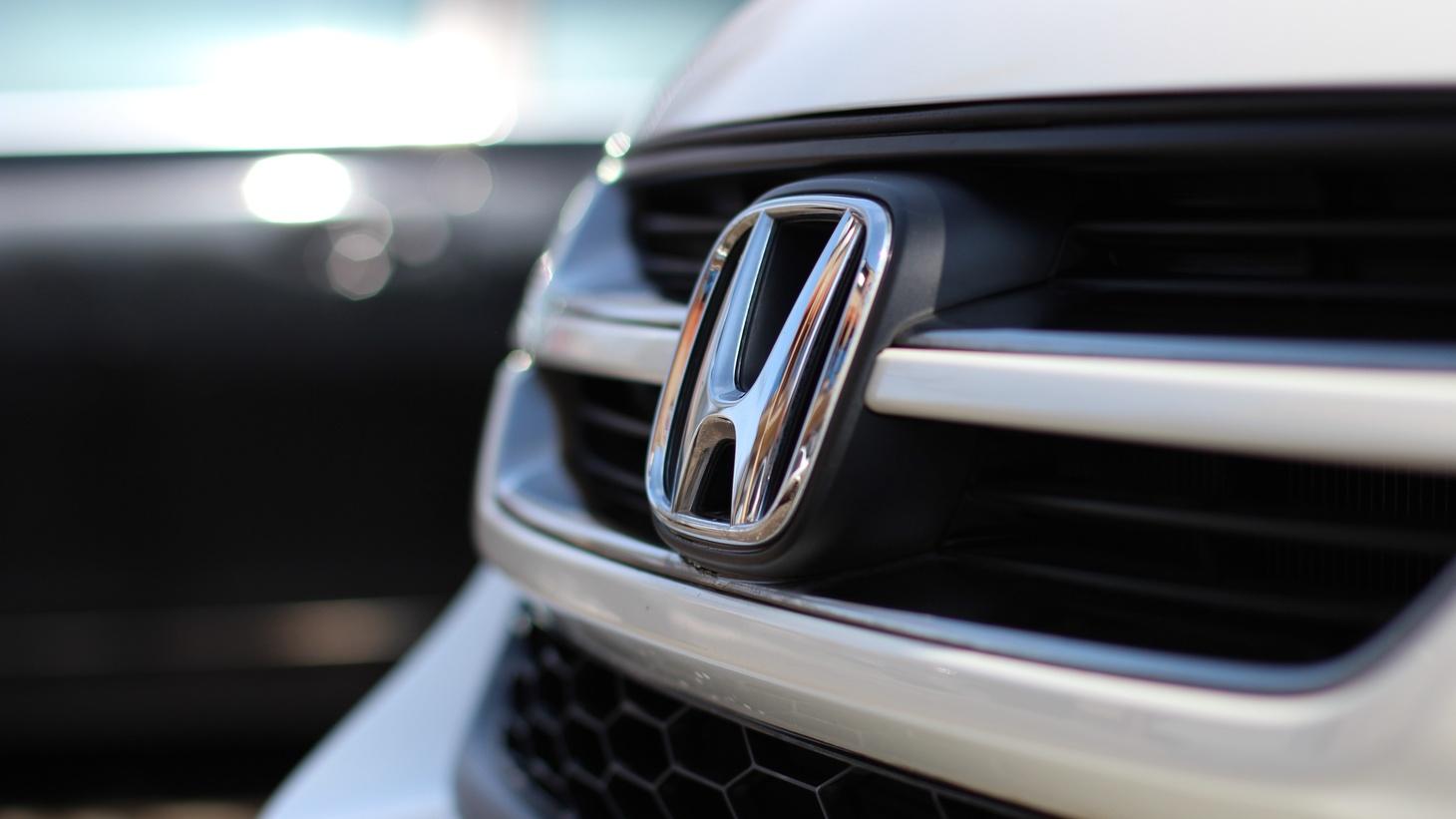 The Honda logo.