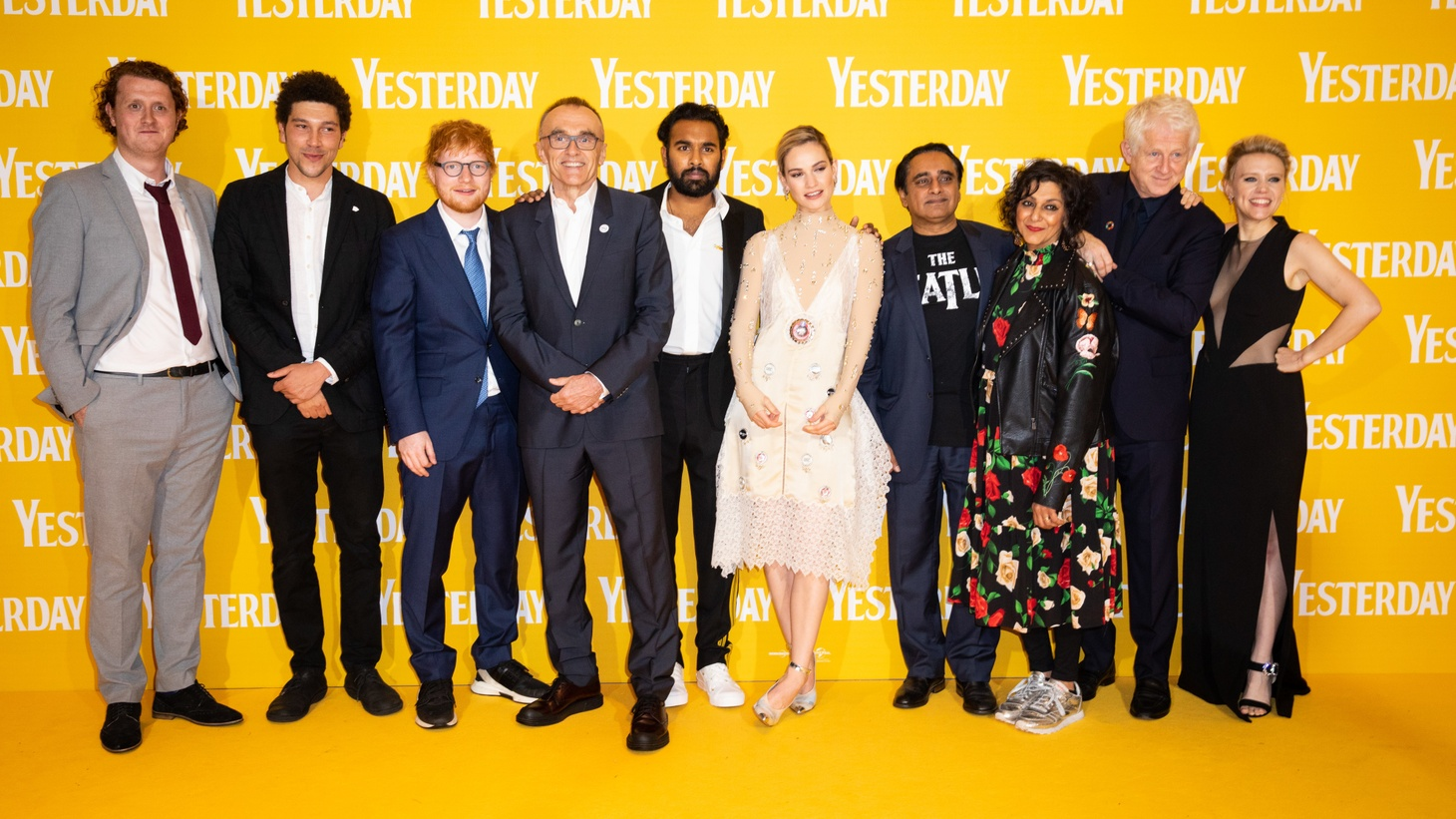 "Cast & crew attend the UK Premiere of ""Yesterday"" on 18th June 2018 in London."