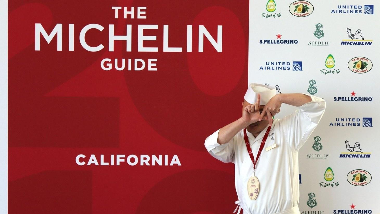 The Michelin Guide.