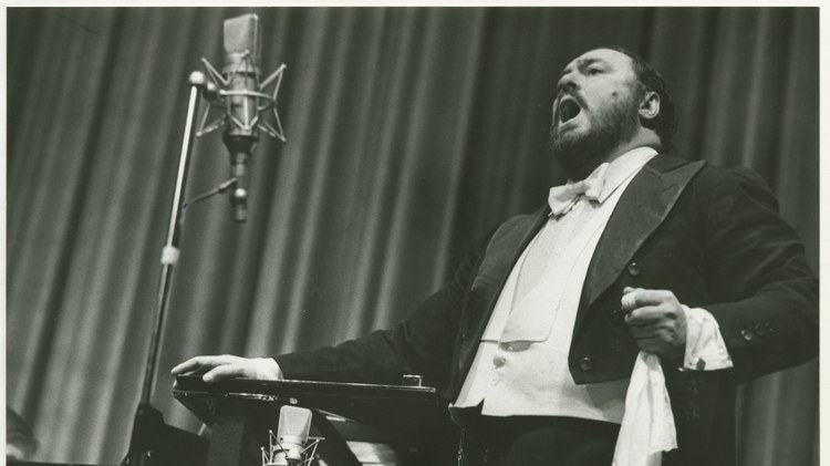 Famed tenor Luciano Pavarotti teamed up with Bono, Sting, and Mariah Carey to bring opera to the masses.