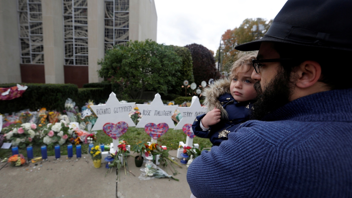 The Jewish community in LA vows to take action in the wake of the worst attack on Jews in U.S. history. Eleven people were killed at a Pittsburgh synagogue over the weekend. We talk with two rabbis here about how they're moving forward.