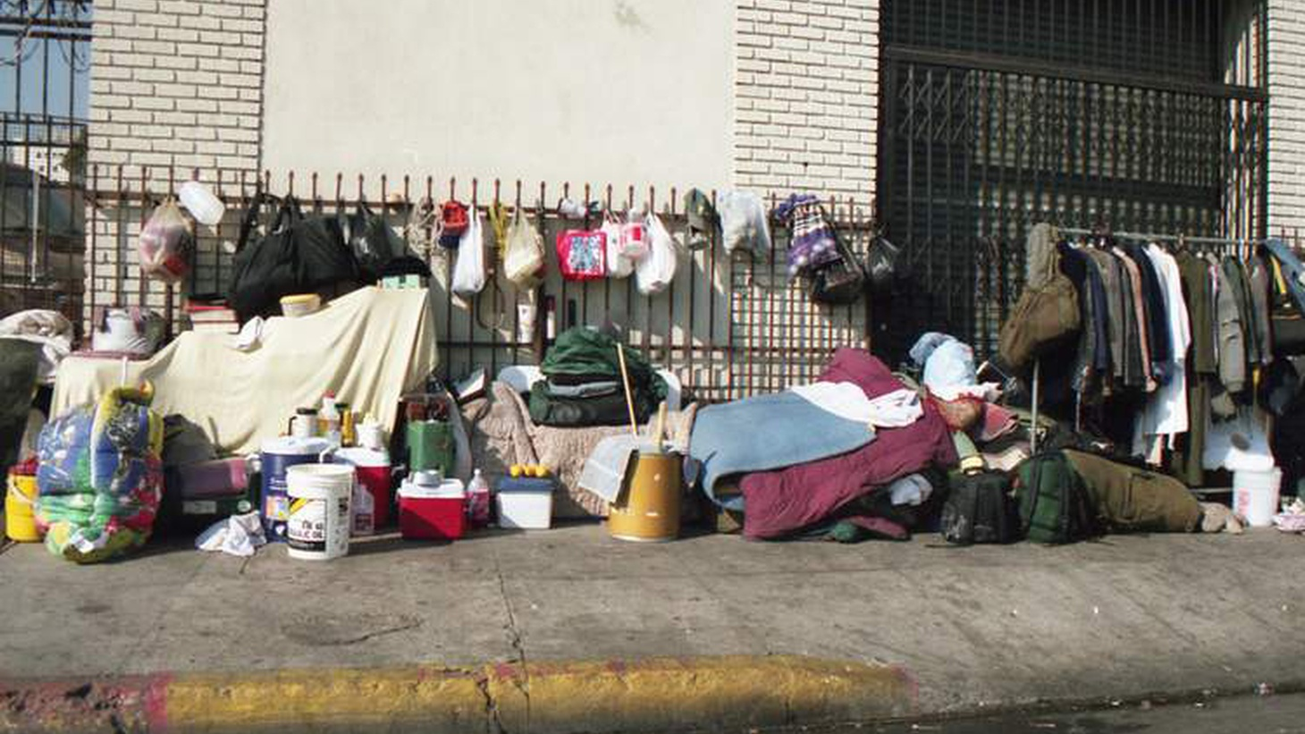 Homelessness is up this year across L.A. Mayor Eric Garcetti explains the city's ongoing strategy for dealing with the issue.