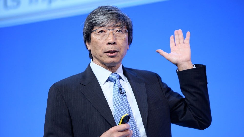 Patrick Soon-Shiong at the NHS Confederation Annual Conference and Exhibition in 2014.